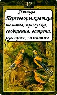 «Мистическо-Магические значения карт Ленорман»  12