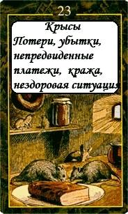 «Мистическо-Магические значения карт Ленорман»  23