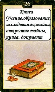 «Мистическо-Магические значения карт Ленорман»  26