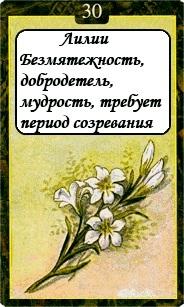 «Мистическо-Магические значения карт Ленорман»  30