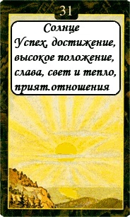«Мистическо-Магические значения карт Ленорман»  31