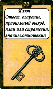 «Мистическо-Магические значения карт Ленорман»  33
