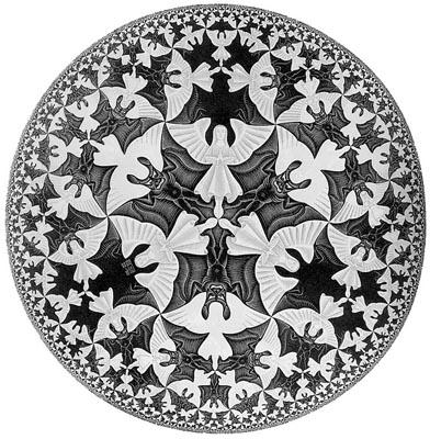 Poème à énigme, mystère à percer... - Page 3 Escher_circle_limit_41