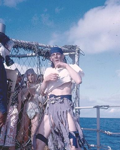 [Les traditions dans la Marine] Passage du cercle polaire (Sujet unique) Polaire15