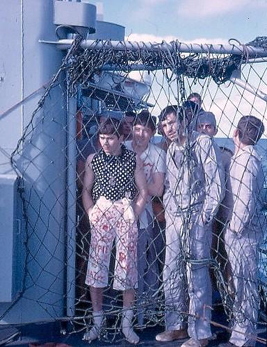 bapteme du cercle polaire - [Les traditions dans la Marine] Passage du cercle polaire (Sujet unique) Polaire17