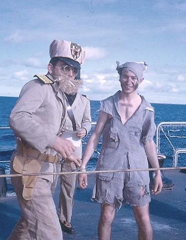 [Les traditions dans la Marine] Passage du cercle polaire (Sujet unique) Polaire18