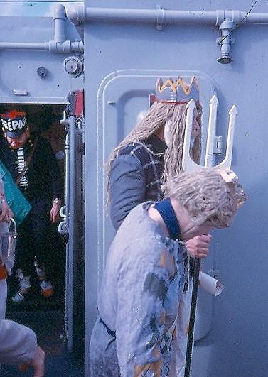 bapteme du cercle polaire - [Les traditions dans la Marine] Passage du cercle polaire (Sujet unique) Polaire19