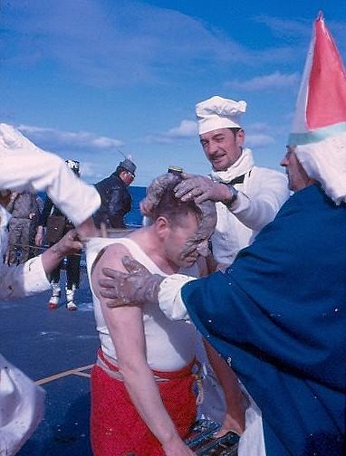 [Les traditions dans la Marine] Passage du cercle polaire (Sujet unique) Polaire21