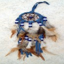 Accessoires de Bikers Dreamcatcher-tress-bleu