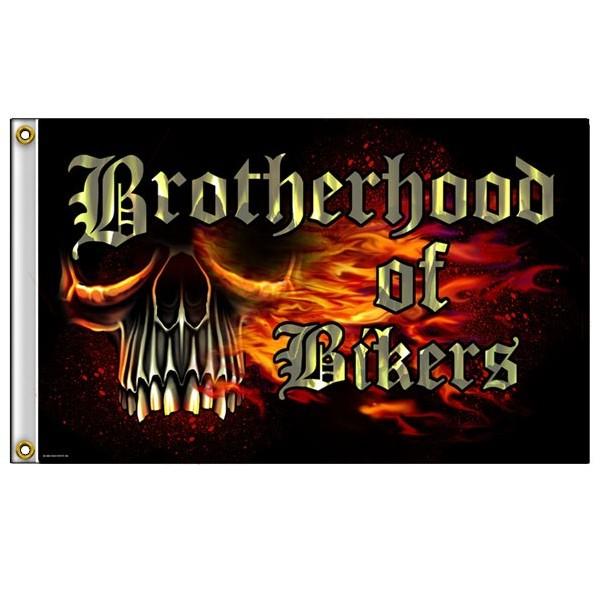 Accessoires de Bikers Drapeaux-brotherhood-of-bikers