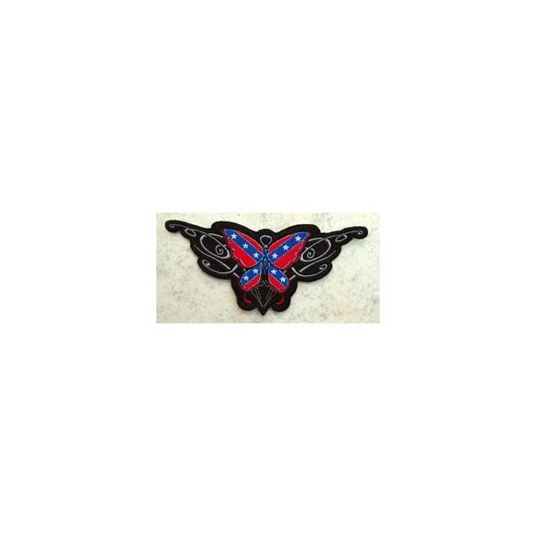 Accessoires de Bikers - Page 2 Patchrebel-butterfly-accessoires-motard