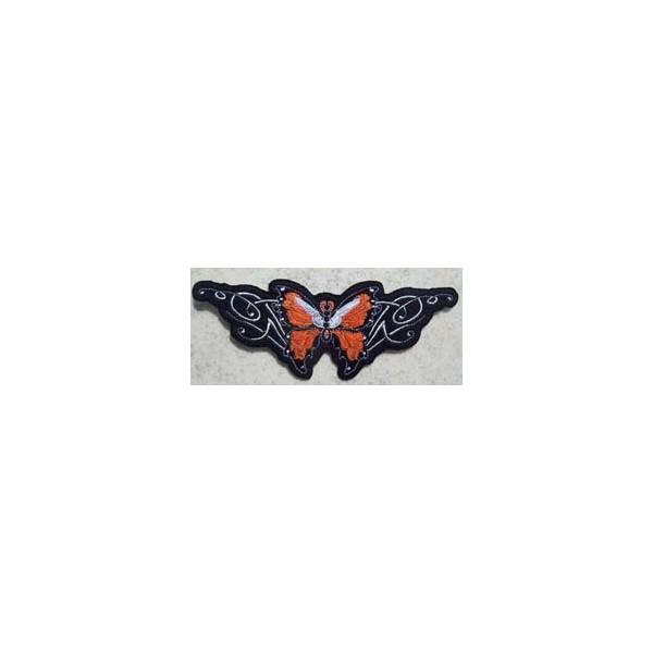 Accessoires de Bikers - Page 2 Patch-orange-butterfly-accessoires-motard
