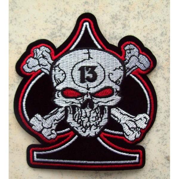 Accessoires de Bikers - Page 2 Patch-as-de-pique-skull-13-accessoires-motard