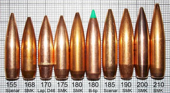 .308 Winchester et 7,62 OTAN 308linex580