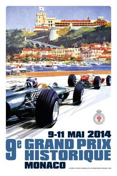 GPMH - Grand Premio Monaco Historique Affiche-3