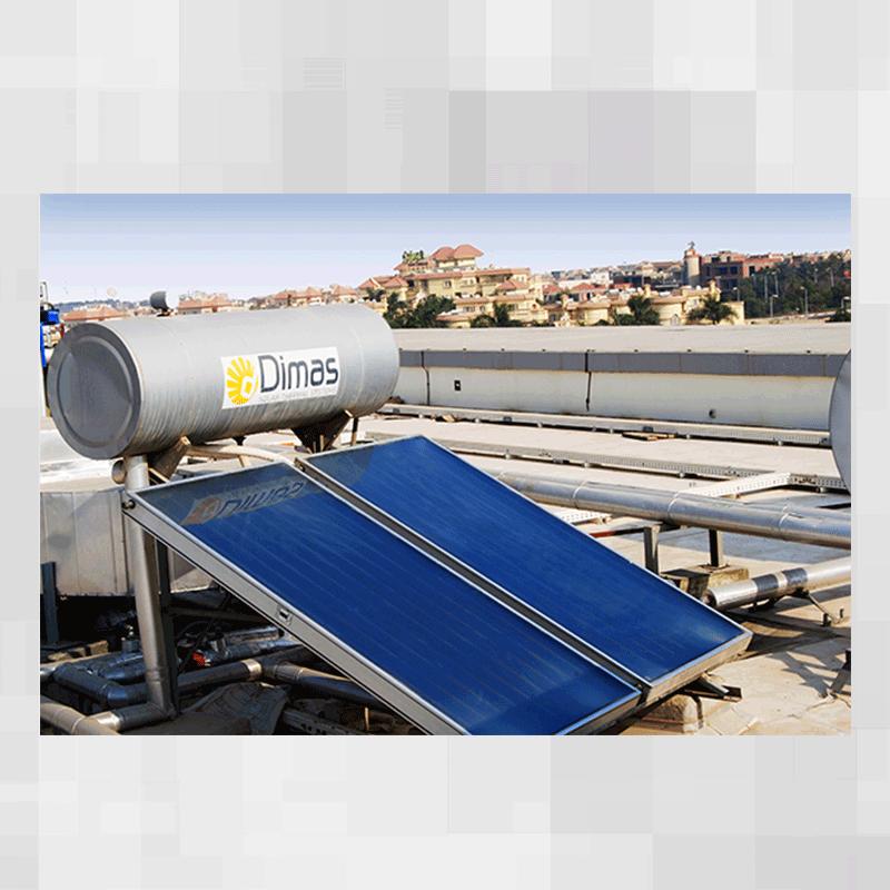 تسخين المياه بالطاقة الشمسية  4-1