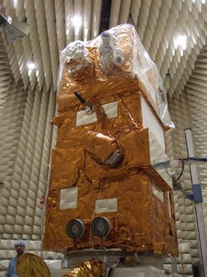 Vega VV05 (Sentinel-2A) - 23.6.2015 Sentinel-2A_in_testing_medium