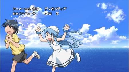 L'animation japonaise et les opening d'animes Ika-Musume-adala