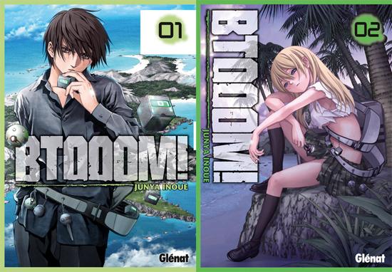 Btooom! BTOOOM-manga