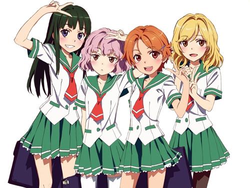Les uniformes scolaires au Japon et dans la culture otaku Natsuiro-Kiseki