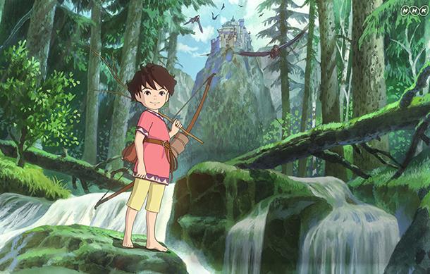 ROYAN ; la fille brigand Sanzoku-no-Musume-Ronia