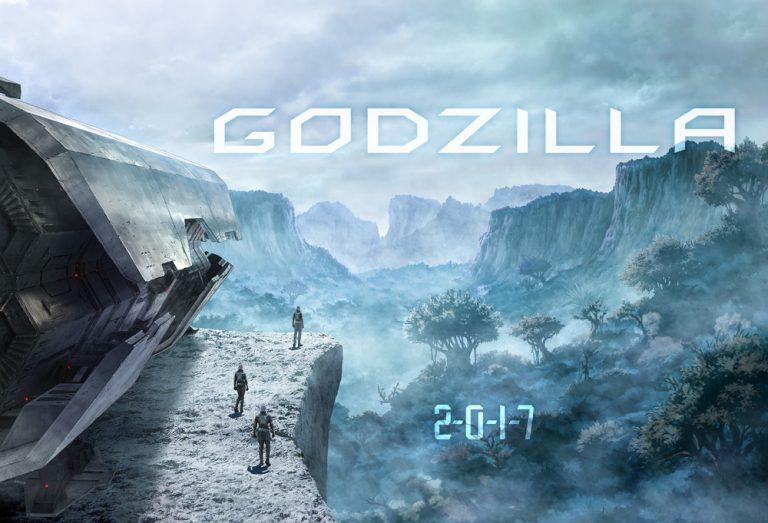 """[NEWS] Une 32ème réalisation pour la franchise """"GODZILLA"""" GodZilla-anime-movie-teasing2-768x523"""