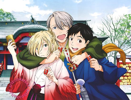 Meilleurs animes de l'année 2016 Yuri-on-Ice-illustration-anime-878