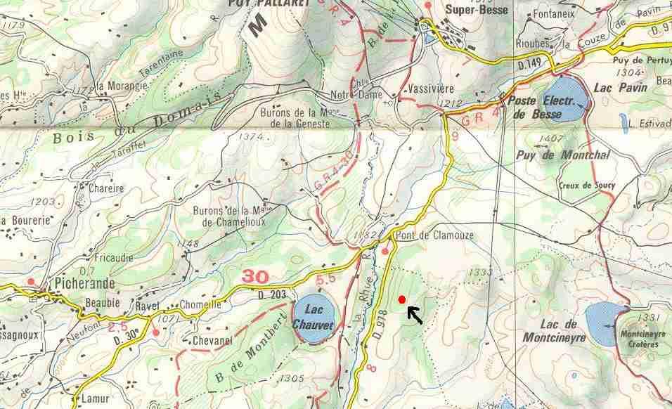 (1952) Lac Chauvet, France, Puy-de-Dôme - Page 3 Spot_small