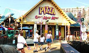(Mini guide) Les restaurants de Disneyland Resort en Californie PizzaOomDinLowBand