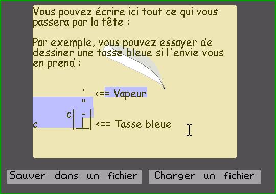 Module Bloc-Notes Screenshot