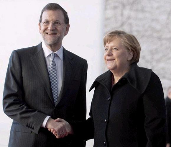 El futuro ya es el presente. Rajoy-merkel