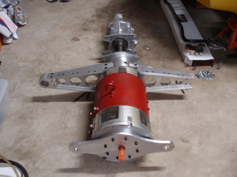 Conversion d'une C3 à  l'éléctricité.... MotorWithBracket