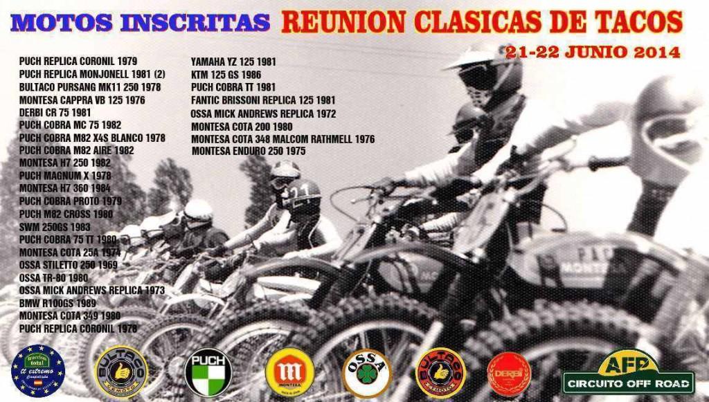 Reunión De Clásicas De Tacos 21-22 Junio 2014 - Villaviciosa (Asturias) LISTA-DE-INSCRITAS-12-1024x581