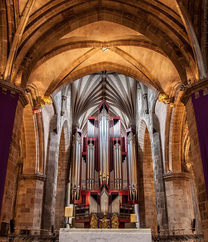 Bon Lundi St.-Giles-Organ