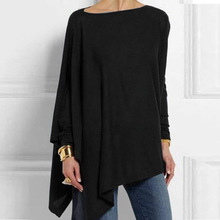 Cotton Irregular Womens Tops And Blouses Casual O Neck Long Sleeve Top Female Tunic 2019 Autumn Spring Plus Size Women's Blouse Cotton-Irregular-Womens-Tops-And-Blouses-Casual-O-Neck-Long-Sleeve-Top-Female-Tunic-2019-Autumn.jpg_220x220