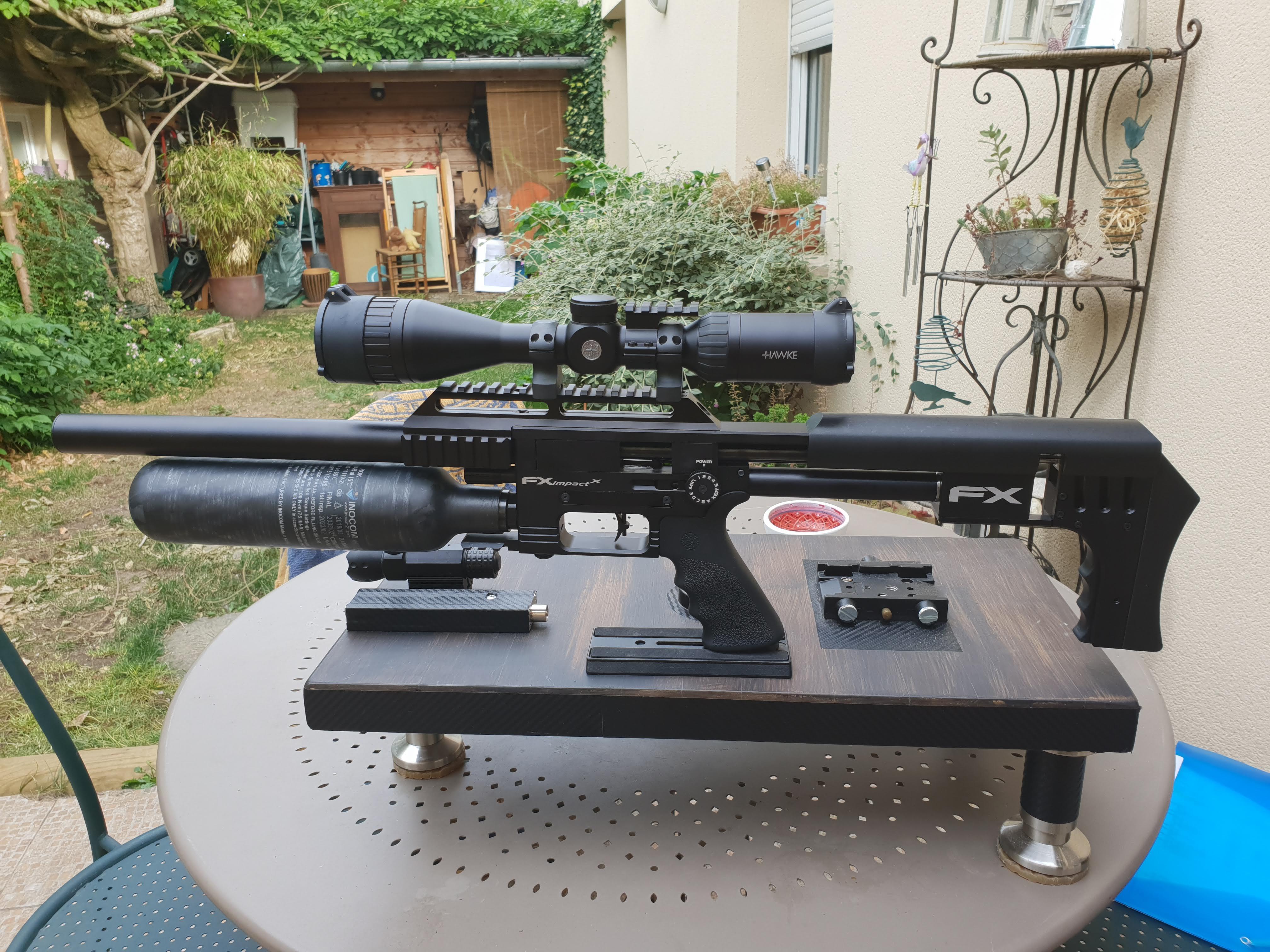 Ma petite dernière : FX Airguns Impact X 1