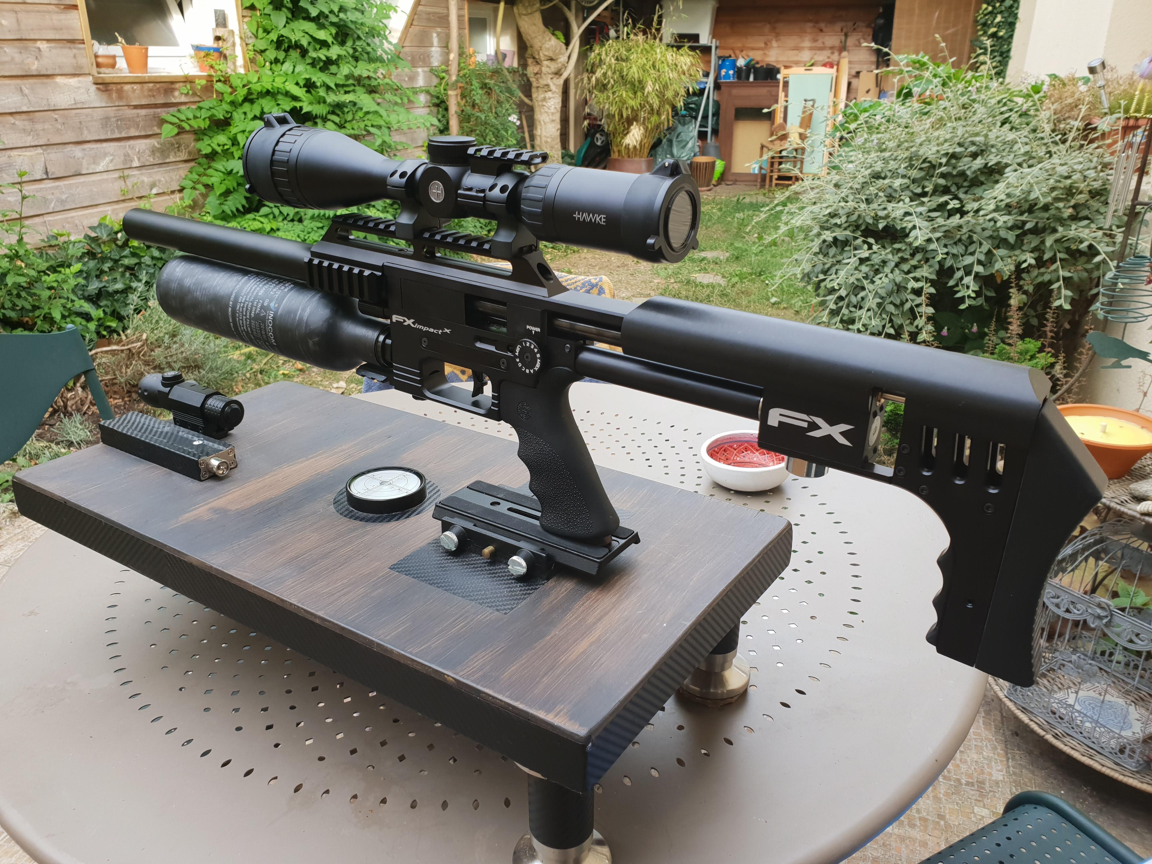 Ma petite dernière : FX Airguns Impact X 10