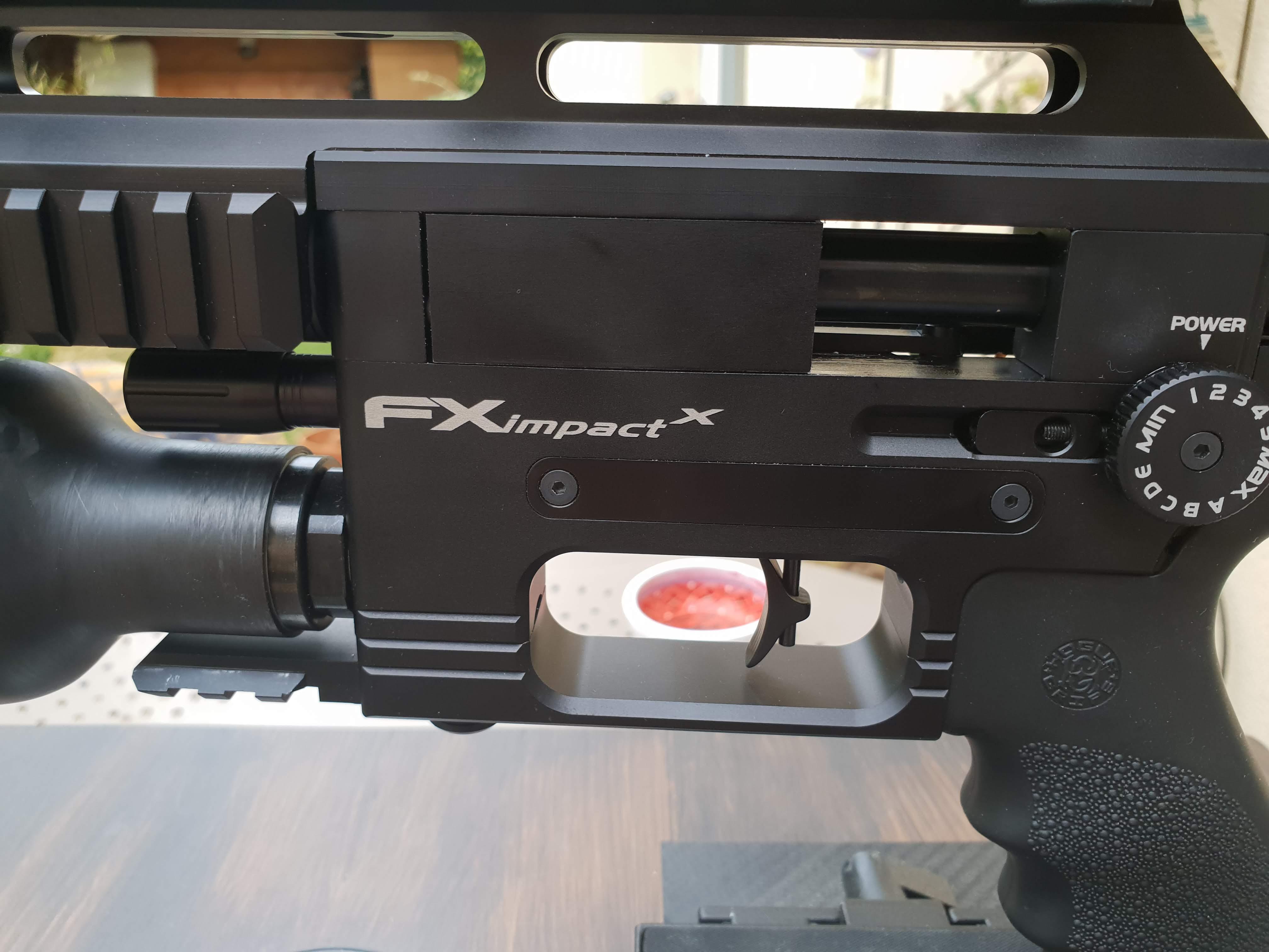 Ma petite dernière : FX Airguns Impact X 8