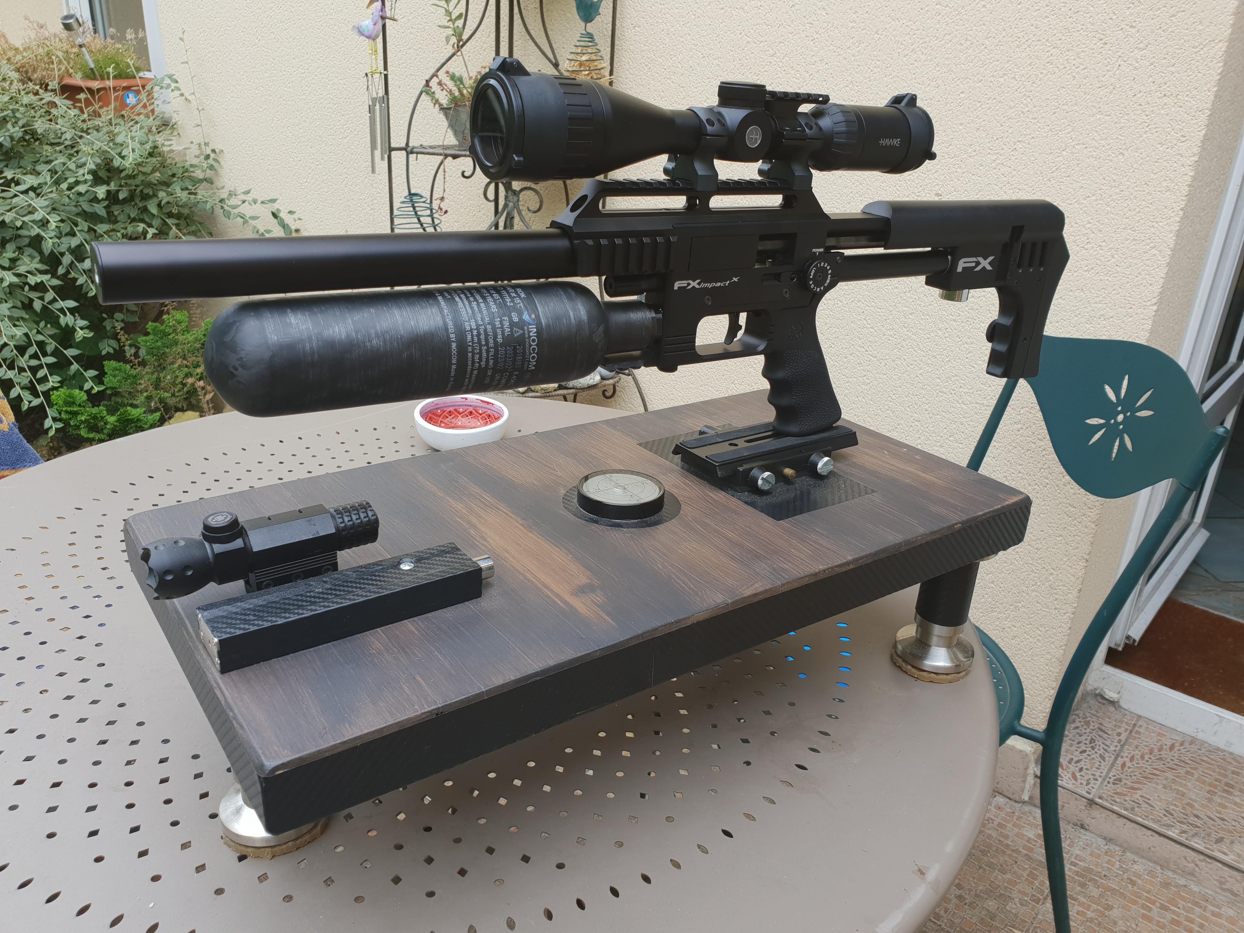Ma petite dernière : FX Airguns Impact X 9