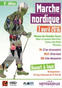 """6ème édition """"Marche nordique"""" Vénissieux : Dimanche 3 avril Affiche_MN_030416_small"""