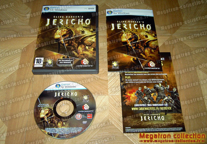 -= Megatron-collection.fr =- (Acte 1) Jericho
