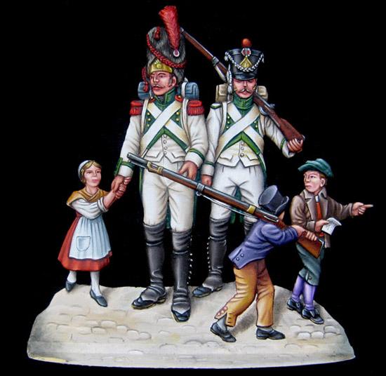Les figurines de l'AFCFEF  Billet-logement