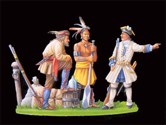 Les figurines de l'AFCFEF  Canada-