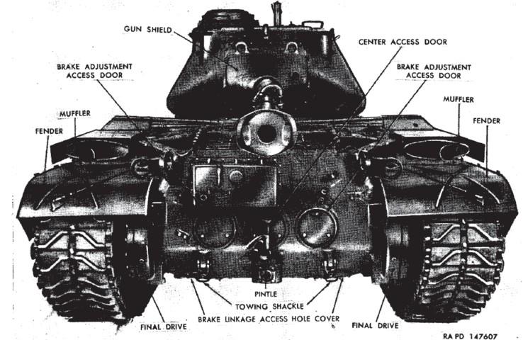 ¤ V1950 ¤ Topic Officiel M47pattonrear