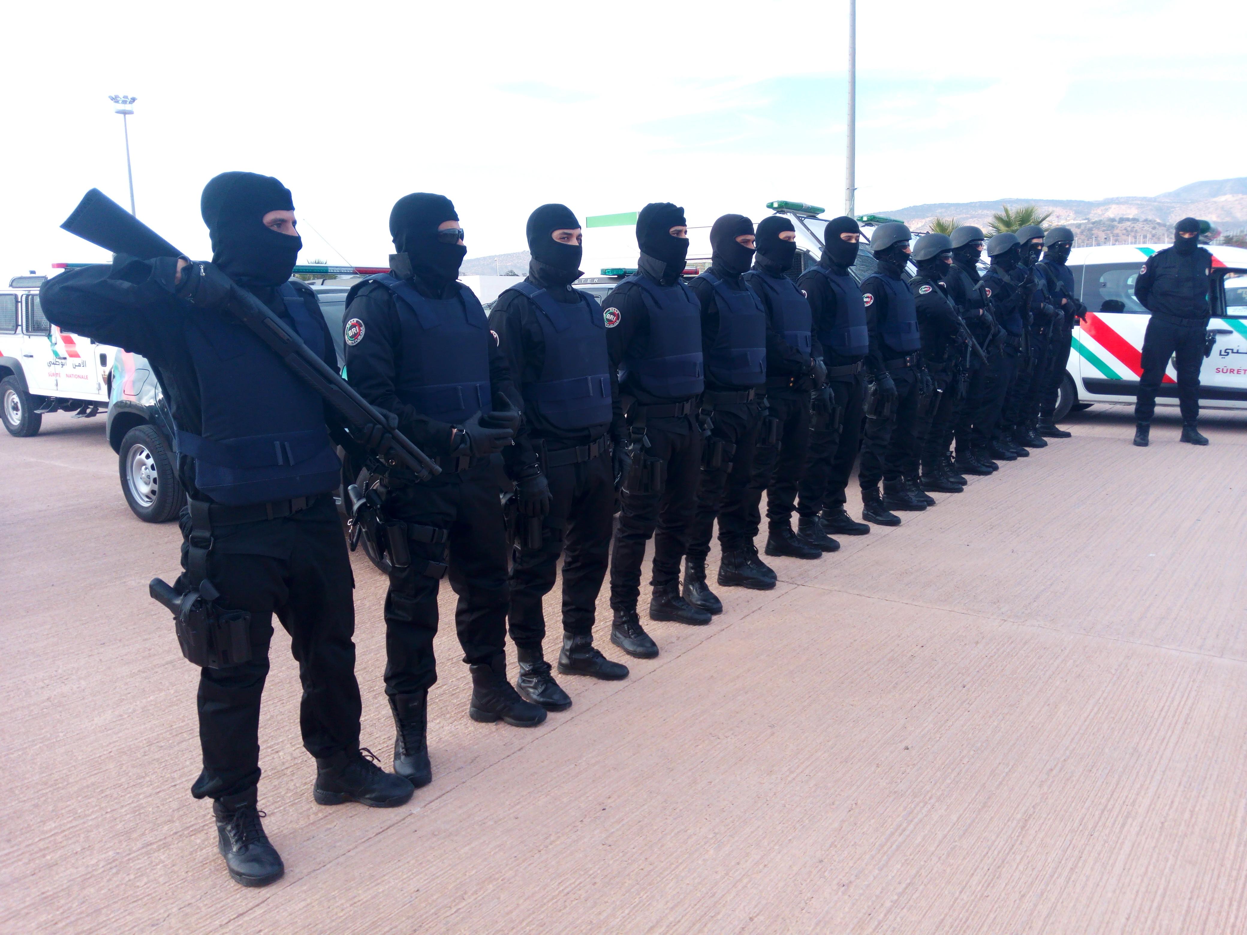 Moroccan Special Forces/Forces spéciales marocaines  :Videos et Photos : BCIJ, Gendarmerie Royale ,  - Page 12 IMG_20171231_163353