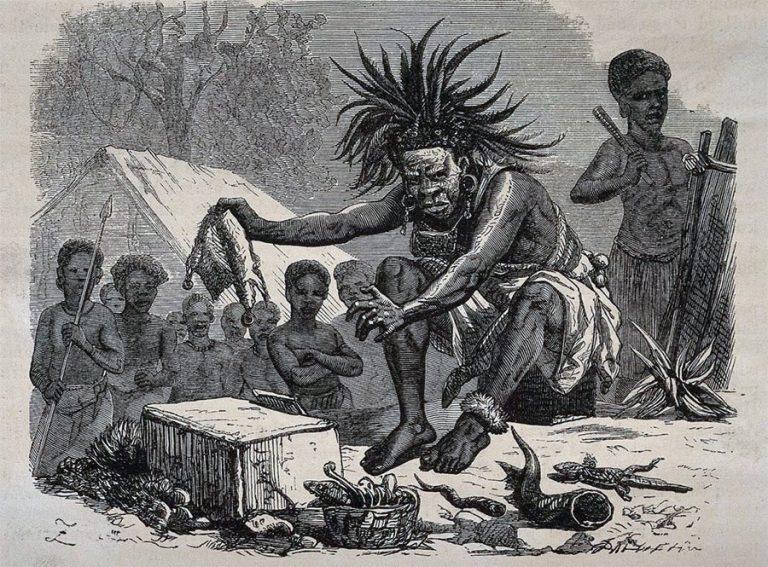 Маги, целители и знахари каменного века Shaman-768x567