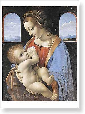 Мама, милая мама... Leonardo-da-Vinci_30250