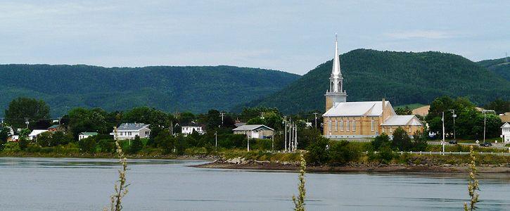 Canada – Un voyage de Québec vers la Gaspésie a travers les paroisses au 19 eme siècle 725px-Carleton-sur-Mer-1