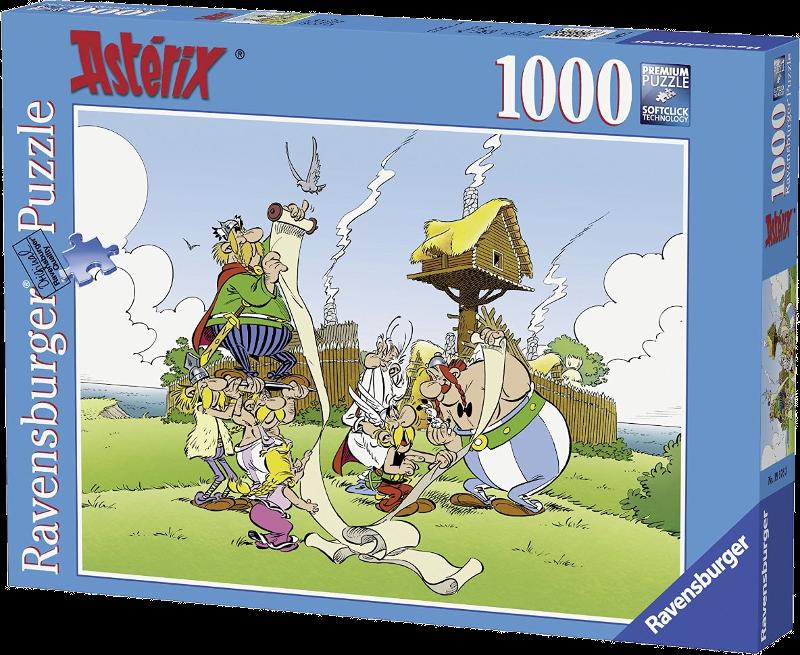 Puzzle Astérix - Le Payrus de César (1000 pièces) - 07 octobre 2015 060e6123f0f8e606f687