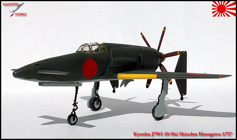 [Hasegawa] Kuyshu J7W1 Shinden Photo23